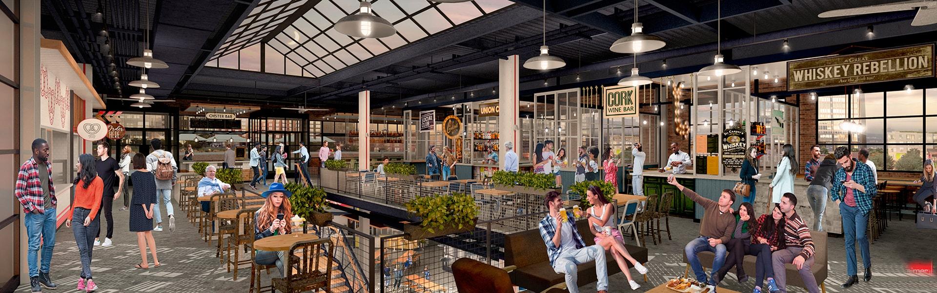 Beer and Food Hall | Rock Row